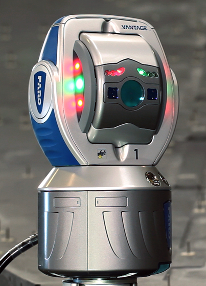 FARO Vantage - A breakthrough in laser tracker technology